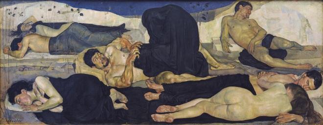 Ferdinand_Hodler_-_Die_Nacht_(1889-90)