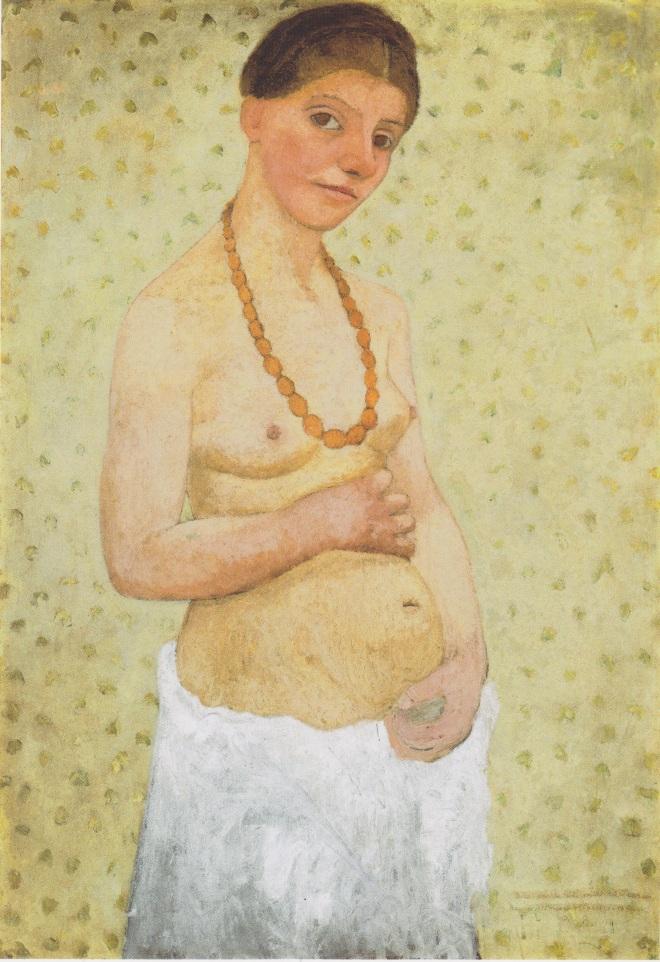 Paula_Moderson-Becker_-_Selbstbildnis_am_6_Hochzeitstag_-_1906